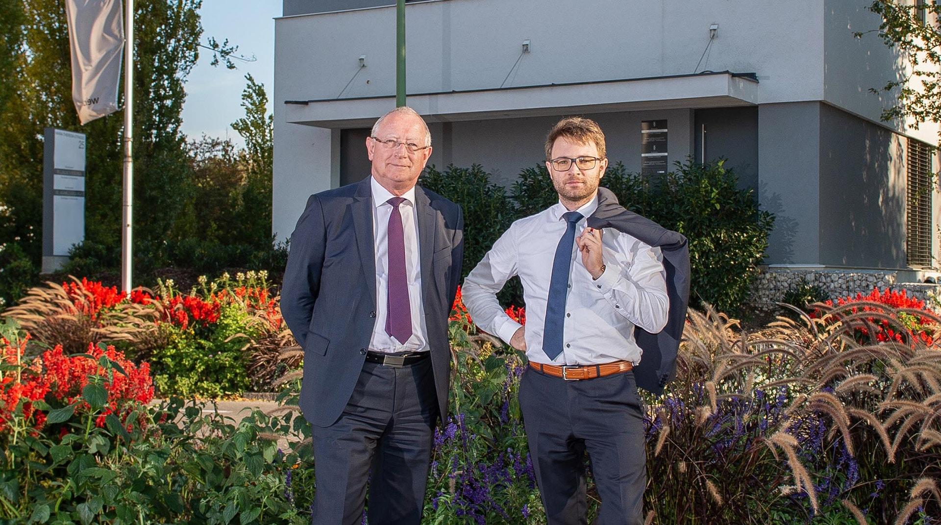Dr. Johannes Kirschner und Dr. Lorenz Kirschner