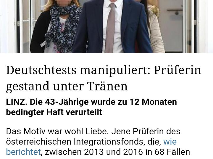 Dr. Lorenz Kirschner - gefälschte Deutschtests