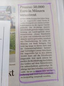Verteidiger Veruntreuung Dr. Lorenz Kirschner